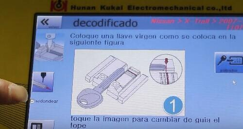 How-to-use-SEC-E9-key-machine-for-Nissan-key-decoding-and-cutting-10