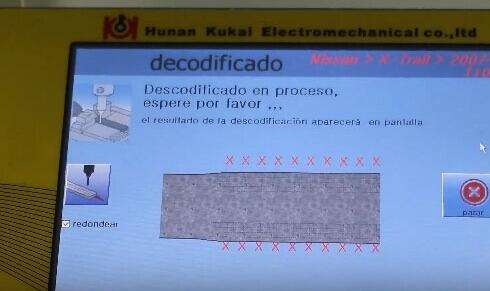 How-to-use-SEC-E9-key-machine-for-Nissan-key-decoding-and-cutting-11