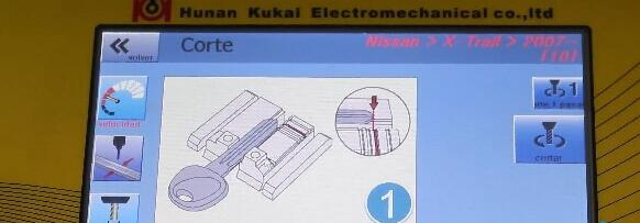 How-to-use-SEC-E9-key-machine-for-Nissan-key-decoding-and-cutting-17