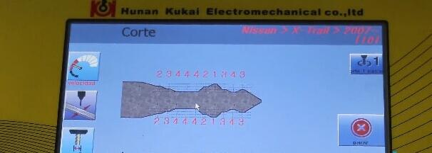 How-to-use-SEC-E9-key-machine-for-Nissan-key-decoding-and-cutting-18