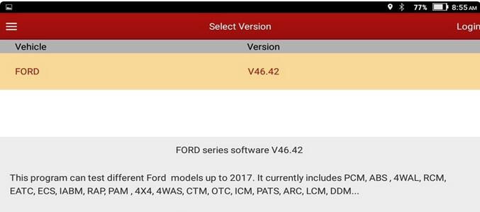 Launch-x431-V-8inch-Ford-test-reports-1
